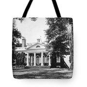 Jefferson: Monticello Tote Bag