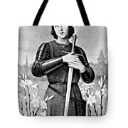 Joan Of Arc, French National Heroine Tote Bag