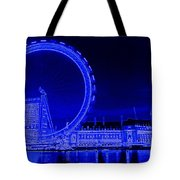 London Eye Art Tote Bag