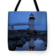Marshall Point Lighthouse Tote Bag