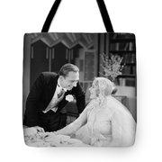 Silent Film Still: Wedding Tote Bag