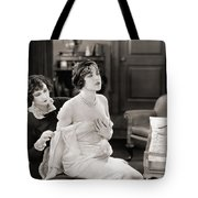 Silent Still: Bedroom Tote Bag by Granger