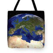 The Blue Marble Next Generation Earth Tote Bag