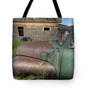 Vintage Farm Trucks Tote Bag