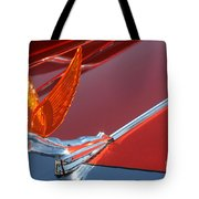75 Caddy Emblem 7848 Tote Bag