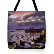 7th Floor View Macleay Street Potts Point Sydney Early Morning Tote Bag