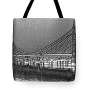 Albert Bridge London Tote Bag