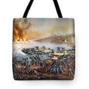 Battle Of Fredericksburg Tote Bag