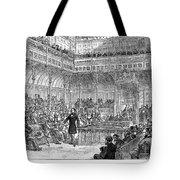 Benjamin Disraeli (1804-1881) Tote Bag
