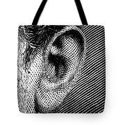 Human Ear Tote Bag