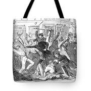 New York: Draft Riots Tote Bag