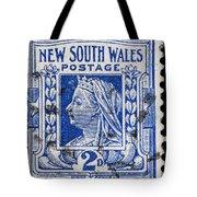 old Australian postage stamp Tote Bag