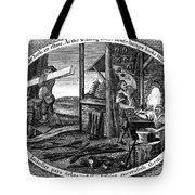 Poor Richard Illustrated Tote Bag