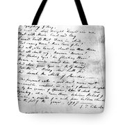 Samuel Taylor Coleridge Tote Bag