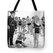 Silent Still: Beach Tote Bag