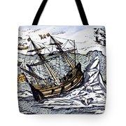 Willem Barents (c1550-1597) Tote Bag