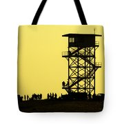 82nd Airborne Division Soldiers Gather Tote Bag