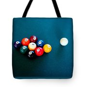 9 Ball Tote Bag