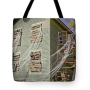 Fall  Halloween On Tillson Street Tote Bag