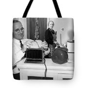 Harry S. Truman (1884-1972) Tote Bag by Granger