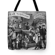 Immigrants: Castle Garden Tote Bag