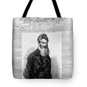 John Brown, American Abolitionist Tote Bag