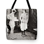 Silent Still: Bathing Tote Bag