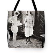 Silent Still: Bathing Tote Bag by Granger