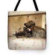 U.s. Army Ranger In Afghanistan Combat Tote Bag
