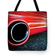 94 Vette Side Pipes Tote Bag