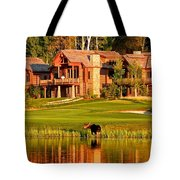 9th Hole's Occasional Water Hazard Tote Bag