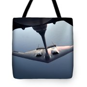 A B-2 Spirit Bomber Conducts Tote Bag
