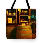 A Barrel And Wine Tote Bag