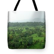 A Beautiful Green Countryside Tote Bag