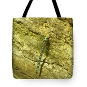 A Big Blue Dragonfly  Tote Bag