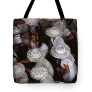 A Birds-eye View Of Women Dressed All Tote Bag