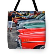 A Blast Of Color - Auto Row 7708 Tote Bag