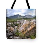 A Boulder Near Loch Garve Tote Bag