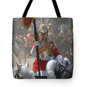 A British Life Guard Of The Household Tote Bag