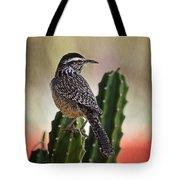 A Cactus Wren  Tote Bag