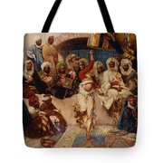 A Captive Audience Tote Bag