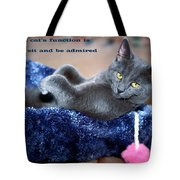 A Cats Function Tote Bag