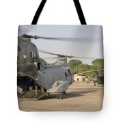 A Ch-46 Sea Knight And Mi-8 Helicopter Tote Bag