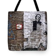 A Character On The Wall Tote Bag by RicardMN Photography