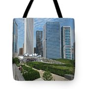 A Chicago View Tote Bag