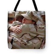A Chief Master Sergeant Consoles Tote Bag