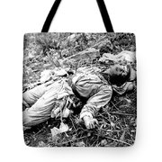 A Chinese Soldier Killed Tote Bag