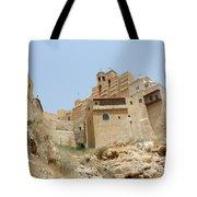 A Church In The Desert Tote Bag