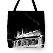 A Church On A Dark Night Tote Bag