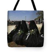 A Civil War-era Funeral Is Recreated Tote Bag
